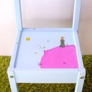 Παιδική καρεκλίτσα και τραπεζάκι Μικρός Πρίγκιπας (σετ 2) DE003