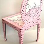 Παιδικές καρεκλίτσες και τραπεζάκι Polka dots DE016