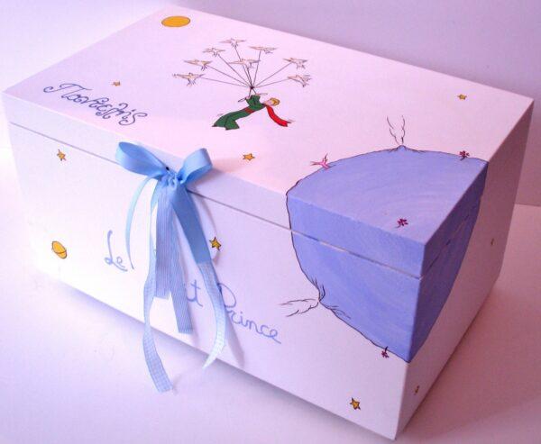 Κουτί βάπτισης Μικρός πρίγκιπας 2 VK017