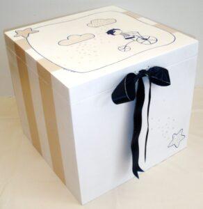 Κουτί βάπτισης Ποδηλατάκι VK023