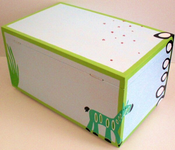Κουτί βάπτισης Ζούγκλα 1 VK009
