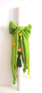 Λαμπάδα βάπτισης Μικρός πρίγκιπας (λαχανί) VL004-23
