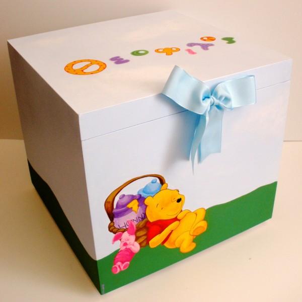 Κουτί βάπτισης Winnie the pooh VK002