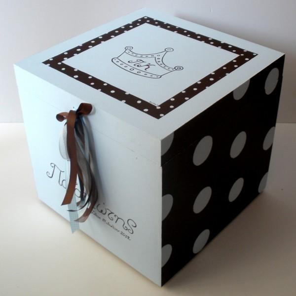 Κουτί βάπτισης Πρίγκιπας VK024