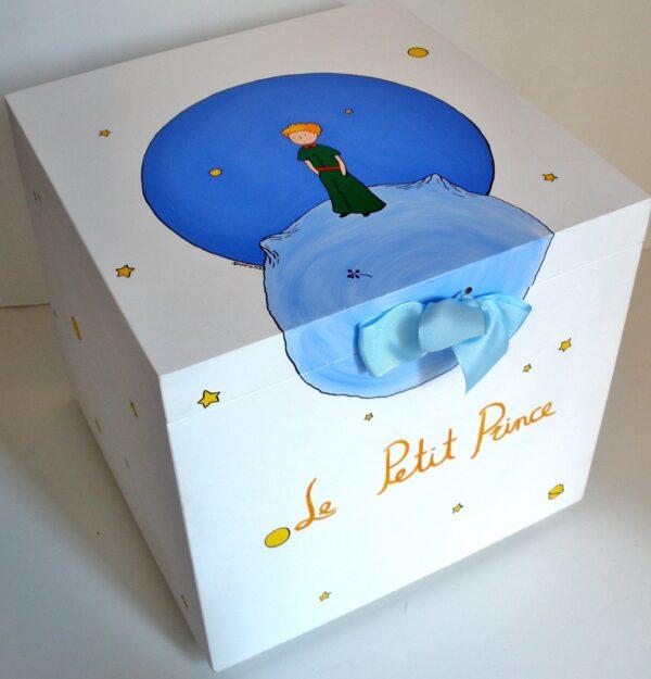 Κουτί βάπτισης Μικρός πρίγκιπας 1 VK018