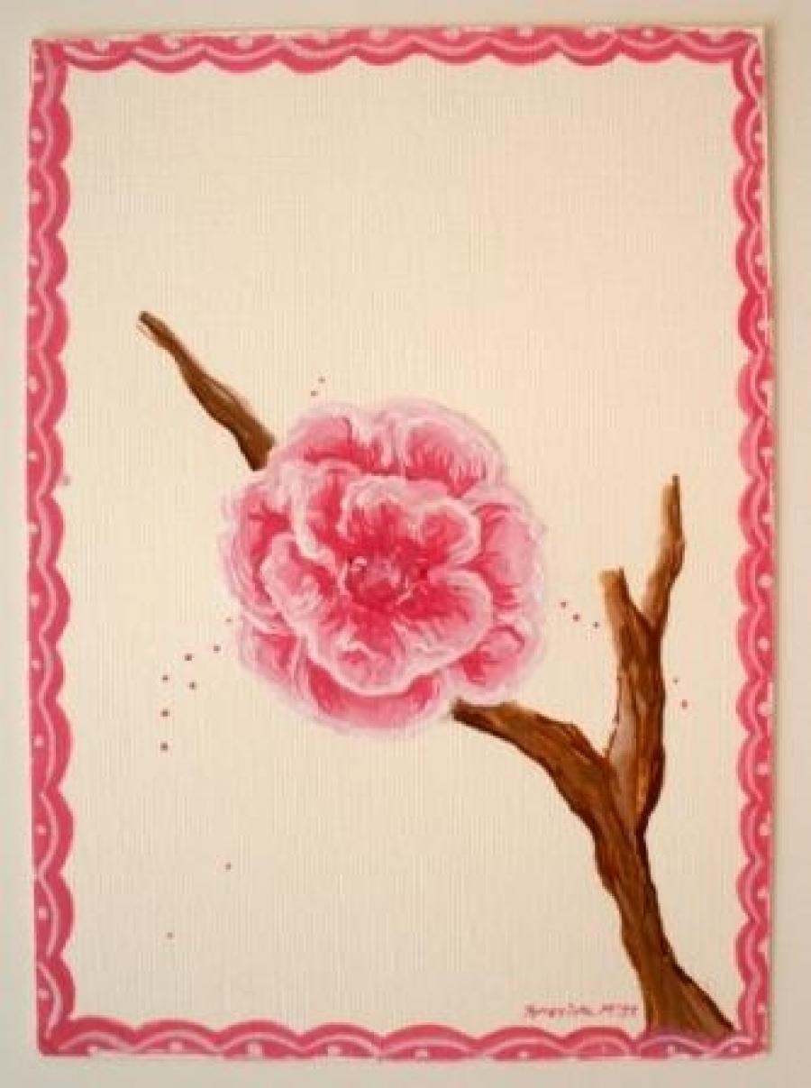 db67d729c9f Παιδικός πίνακας Λουλούδια DPP040 | Happyrooms