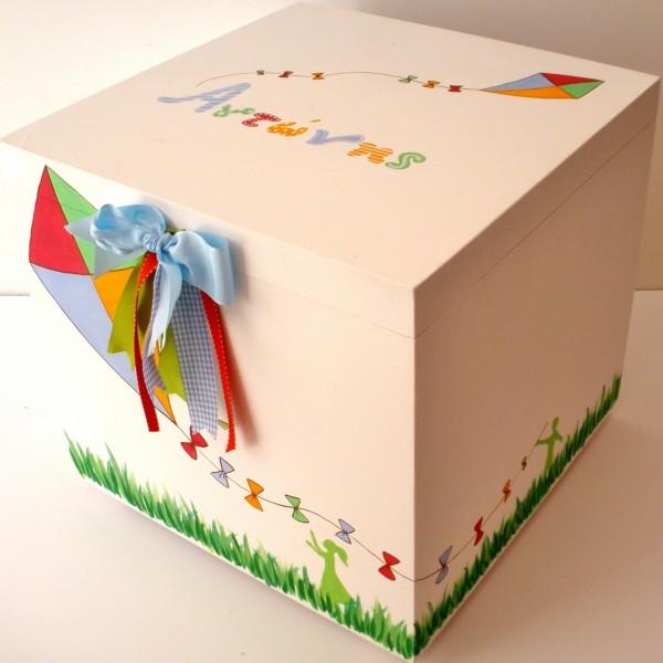 Κουτί βάπτισης Χαρταετός VK033