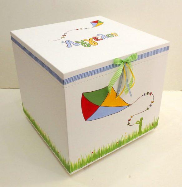 Κουτί βάπτισης χαρταετός