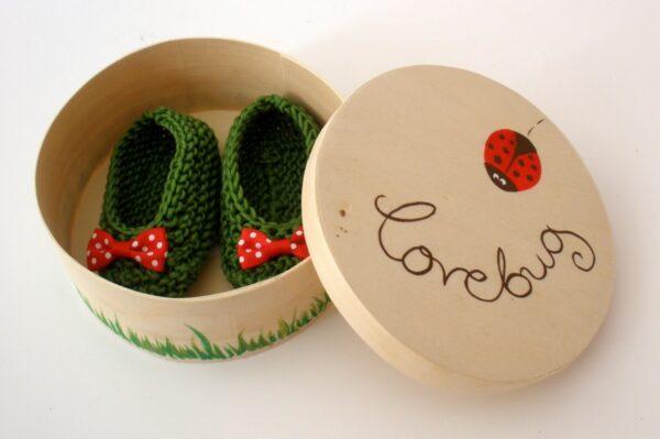 Σετ δώρου Baby Steps Πασχαλίτσα για νεογέννητα NBG012