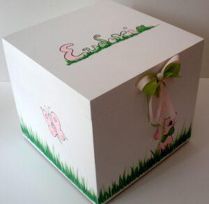 Κουτί βάπτισης Γατούλα VK037