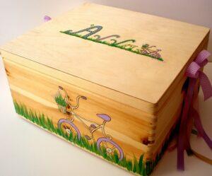 Κουτί βάπτισης Ποδηλατάκι Eco VK040