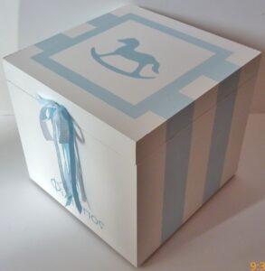 Κουτί βάπτισης Αλογάκι VK043
