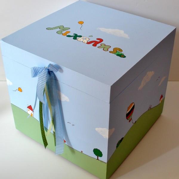 Κουτί βάπτισης happyland VK045