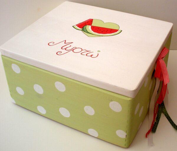 Κουτί βάπτισης Καρπουζάκι (Eco) VK041