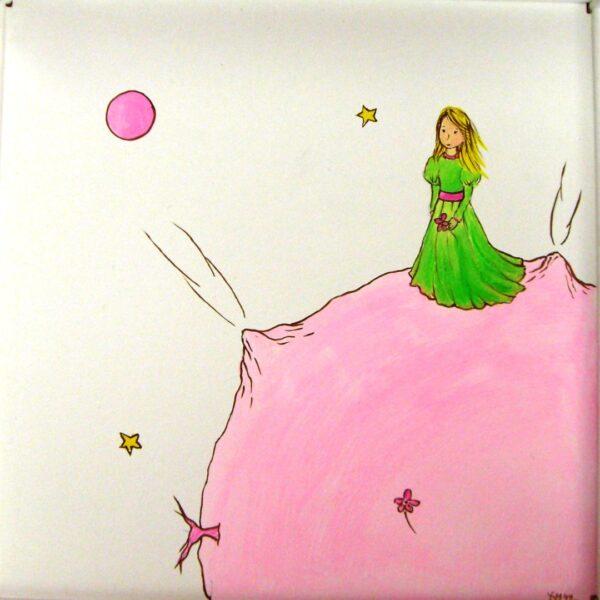 Παιδική καρεκλίτσα και τραπεζάκι Μικρή Πριγκίπισσα DE009