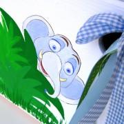 Κουτί βάπτισης Ζούγκλα 2 (Eco) VK050
