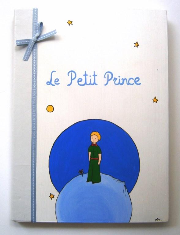 Ζωγραφιστό βιβλίο ευχών Μικρός Πρίγκιπας BE001