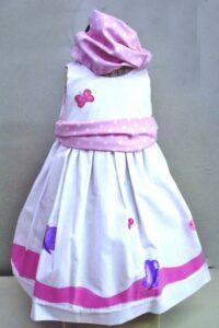 Βαφτιστικό φόρεμα Πεταλούδες BD013