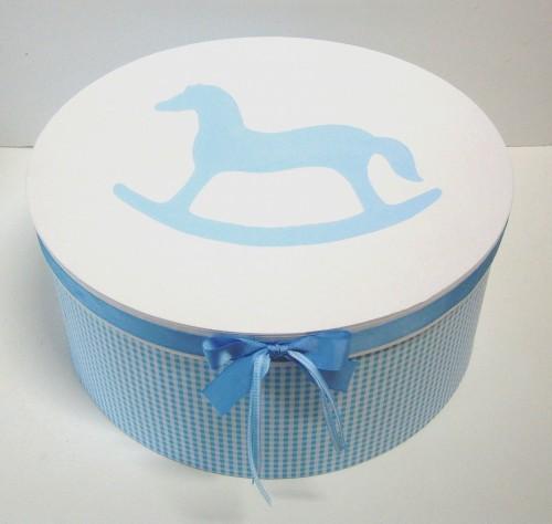 Κουτί βάπτισης Καπελιέρα Αλογάκι - Carousel VK036