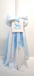 Λαμπάδα βάπτισης Αλογάκι- Carousel 2 VL004-38