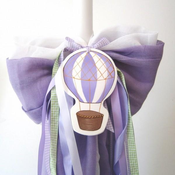 Λαμπάδα βάπτισης Αερόστατο VL004-39