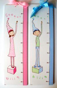 Παιδικός Υψομετρητής κοριτσάκι Αγοράκι DH001