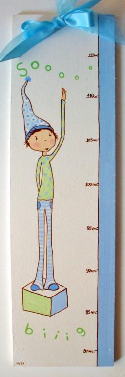 Παιδικός Υψομετρητής Αγοράκι DH001