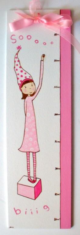 Παιδικός Υψομετρητής κοριτσάκι DH001