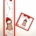 Παιδικός Υψομετρητής Κοκκινοσκουφίτσα DH011
