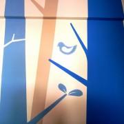 Παιδική τοιχογραφία Μπλε Δάσος PT010