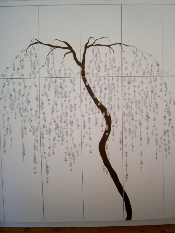 Τοιχογραφία Ιαπωνέζικο δέντρο PT012