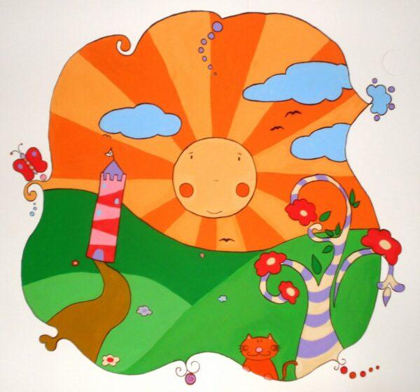 Παιδική Τοιχογραφία Dreamland PT003