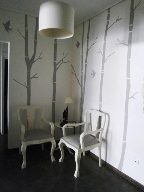 Τοιχογραφία Γκρι Δάσος PT013