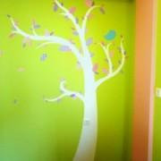 Παιδική τοιχογραφία Patchwork δέντρο PT011