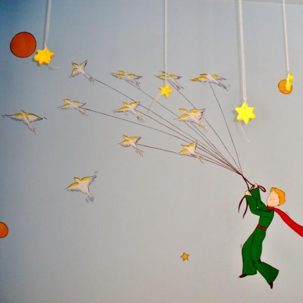 Παιδική τοιχογραφία Μικρός Πρίγκιπας PT005