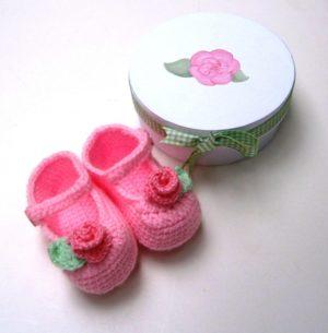 Σετ δώρου Baby Steps λουλούδια για νεογέννητα NBG048