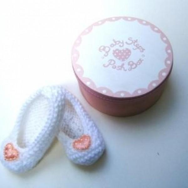 Σετ δώρου Baby Steps καρδούλα για νεογέννητα NBG051