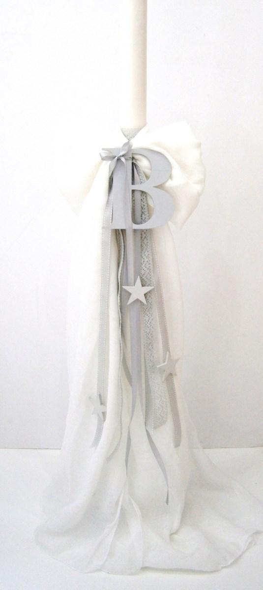 Λαμπάδα βάπτισης Αστέρι VL004-42