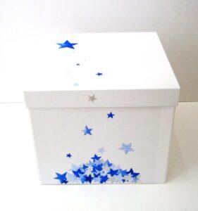 Κουτί βάπτισης Αστέρια VK065