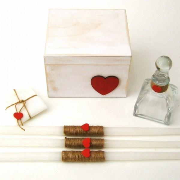 Λαδόκουτο Κόκκινη καρδιά VL001-40