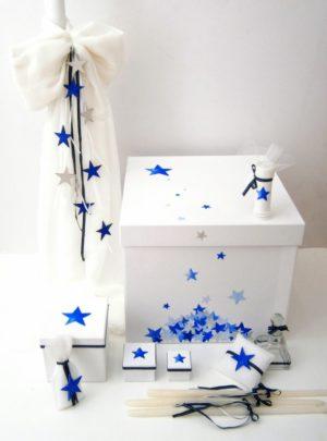 """Είδη βάπτισης με θέμα """"Αστέρια"""" VS065"""