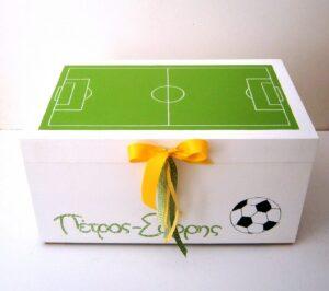 Κουτί βάπτισης Ποδόσφαιρο VK068