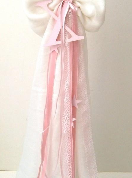 Λαμπάδα βάπτισης Ροζ Αστέρι VL004-48