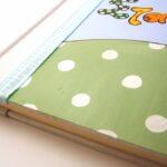 Ζωγραφιστό βιβλίο ευχών Καμηλοπάρδαλη BE004