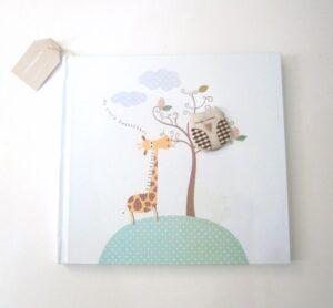 Ζωγραφιστό βιβλίο ευχών Καμηλοπάρδαλη BE012