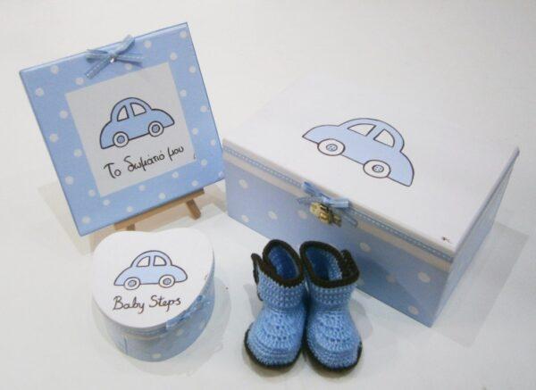 Σετ δώρου για νεογέννητα αυτοκινητάκι NBG065