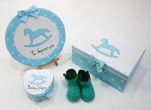 Σετ δώρου για νεογέννητα αλογάκι NBG066