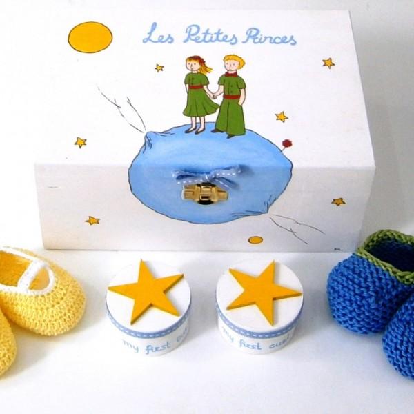 Σετ δώρου για Δίδυμα Μικρός Πρίγκιπας 2 NBG060