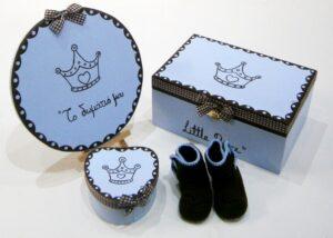 Σετ δώρου για νεογέννητα Πρίγκιπας NBG068