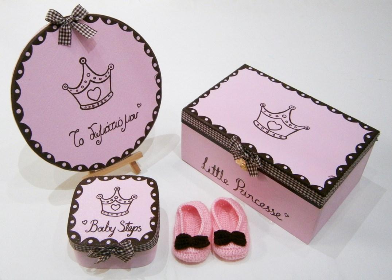 Σετ δώρου για νεογέννητα Πριγκίπισσα NBG069